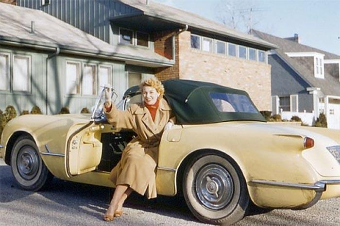 Throwback Thursday: Zora's 1955 Corvette Listed for Sale at $3,500