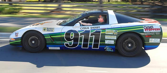 Confiscated C5 Corvette Now Educates Florida Students about Drugs and Crime