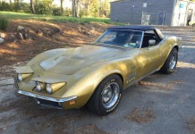 Corvettes on eBay: Barn Find 1969 Corvette Sells for $28,300