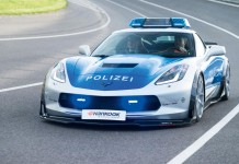 Corvette Stingray Police Car is Just the TIKT