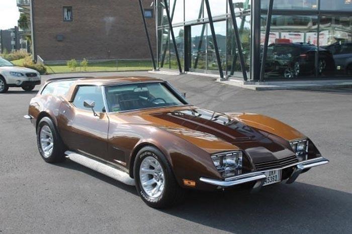 Corvettes on eBay – Chuck Miller's 1971 Corvette SportWagon