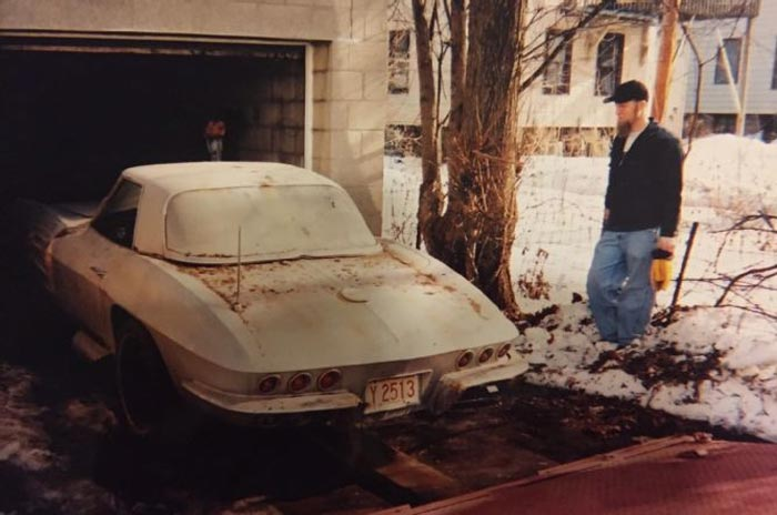 Milwaukee Garage Hides Two 1957 Corvettes and a 1963 Sting Ray Convertible