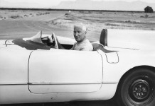 [PIC] Throwback Thursday: Zora Duntov and the EX87 Corvette Mule Hit 163 MPH