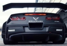 [VIDEO] Callaway Corvette C7 GT3-R: Test Drive at Hockenheimring