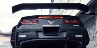 [VIDEO] Callaway Corvette C7 GT3-R: Test Drive at Hockenheimring