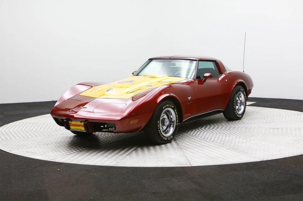 Corvettes on eBay: 1979 Corvette Signed by 2015 Washington Redskins