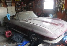Corvettes on eBay: Garage Find 1966 Corvette Sting Ray