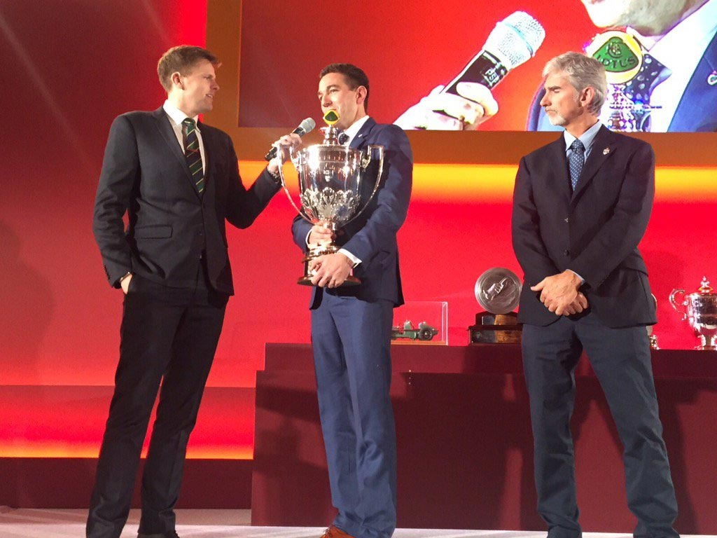 Corvette Racing's Oliver Gavin Honored by the British Racing Drivers Club