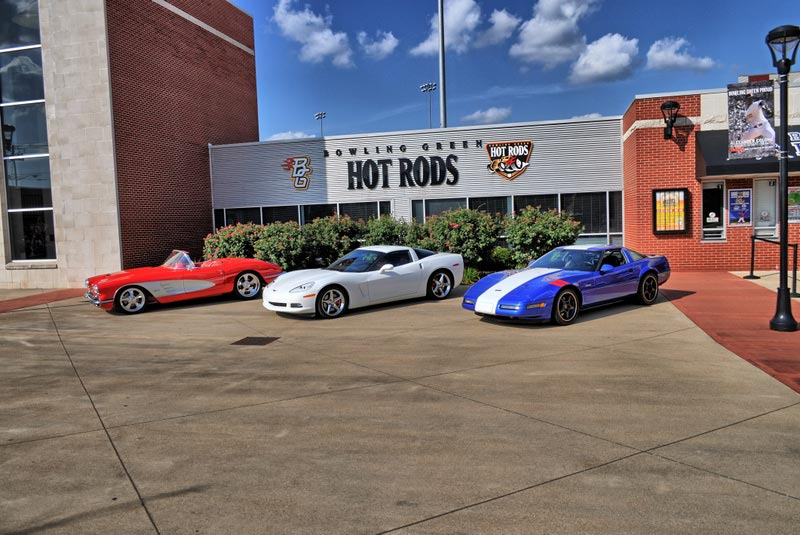 Chevrolets are Joining Bowling Green's Corvette Homecoming Show