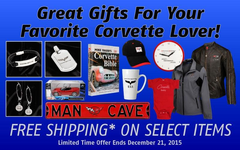 Mid America Motorworks has Great Gifts for your Favorite Corvette Lover
