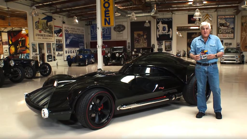 [VIDEO] Jay Leno Drives the Corvette-based Hot Wheels Darth Vader Tribute Car
