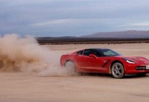 [VIDEO] Bros Hoon a Rental Corvette Stingray in the Desert