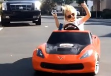 [VIDEO] Girl Powerslides a Corvette Right Into Our Hearts