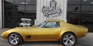 Fast n' Loud's 1968 Hot Wheels Corvette to be offered at Barrett Jackson