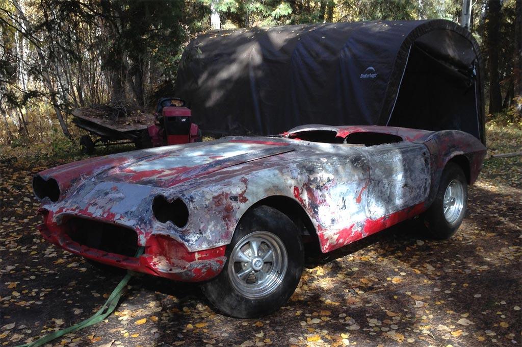 Barn Find: 1961 Corvette from the Edmonton Hard Rock Cafe