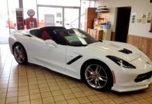 2016 Corvette Stingray with Corvette Accessories Ground Effects Kit