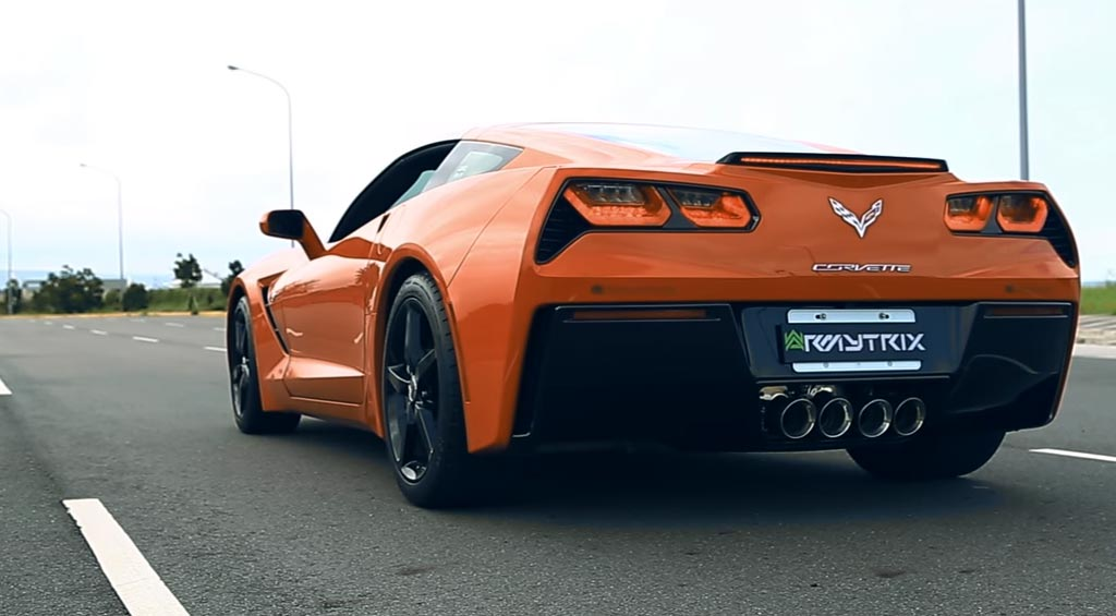 [VIDEO] ARMYTRIX Exhaust Systems Will Give Your C7 Corvette More Roar