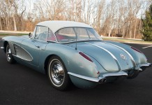 World War II Veteran Donates His 1958 Corvette to the National Corvette Museum