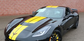 [PICS] New Yellow Full Length Stripe Color for 2016 Corvettes