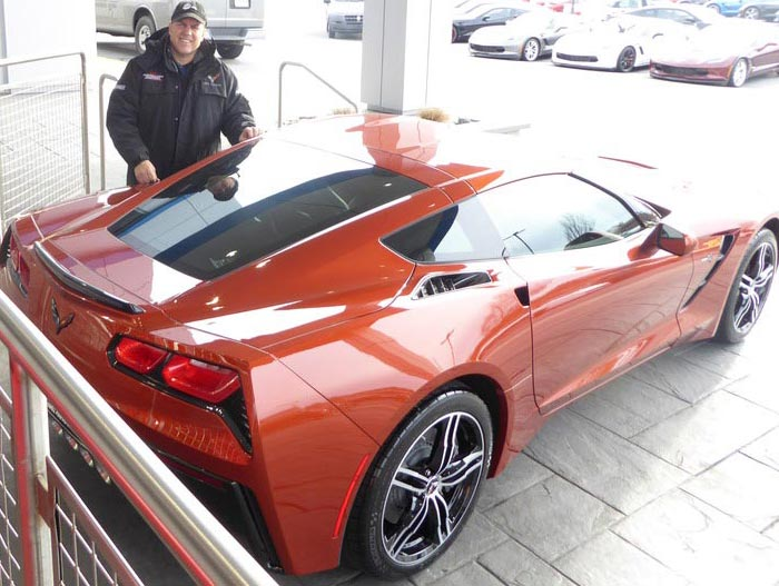 Corvette Delivery Dispatch with National Corvette Seller Mike Furman for Week of January 24th