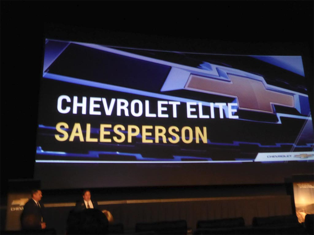 National Corvette Seller Mike Furman Honored at GM Dealers Meeting