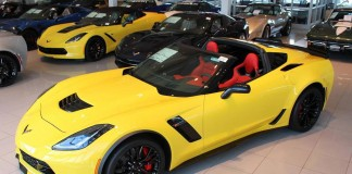January 2016 Corvette Sales