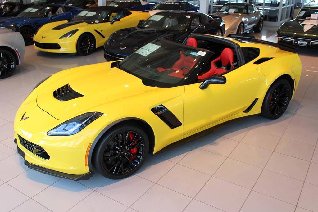 January 2016 Corvette Sales