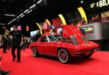 Top Ten Corvette Sales at Mecum's Kissimmee 2016 Auction