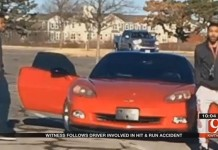 [VIDEO] Corvette Hit and Run Has Oklahoma Man Fuming