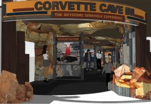 Corvette Museum to Open Corvette Cave-In Exhibit on 2nd Anniversary of Sink Hole