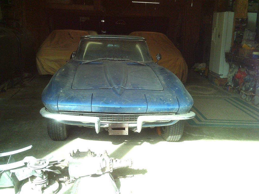 Corvettes on eBay: Barn Find 1965 Corvette Convertible