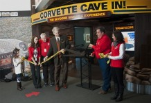 [VIDEO] Corvette Museum Officially Opens Corvette Cave-In Sinkhole Exhibit