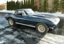 Corvettes on eBay: Barn Find 1965 Corvette with John Greenwood Built 427 V8