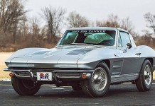 1963 Corvette Z06 Tanker to be Offered at Mecum Houston