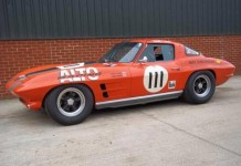 1963 Corvette Sting Ray Racer to be Offered at U.K. Silverstone Auction