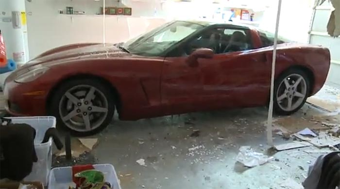 [VIDEO] Storm Destroys Home but Spares the C6 Corvette in the Garage