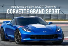 Chevrolet's 2017 Corvette Grand Sport's Website Points to Future Offerings