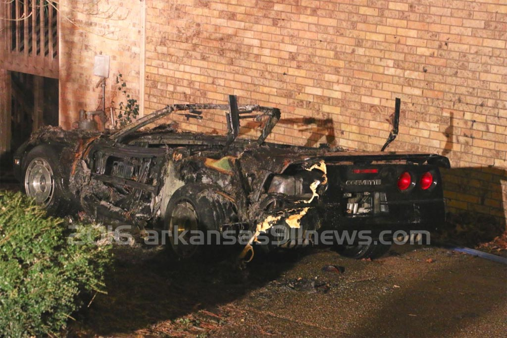 [ACCIDENT] 1987 Corvette Goes Up in Flames in Arkansas