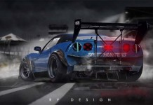 [VIDEO] Watch a Time Lapse Rendering of this Corvette ZR1 in Photoshop