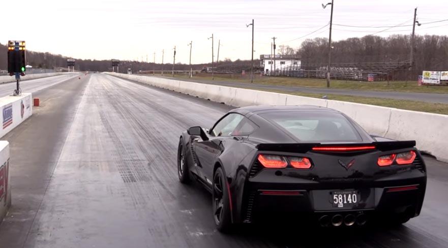 [VIDEO] Budget Build Corvette Z06 Claims World's Fastest C7 Z06 Title