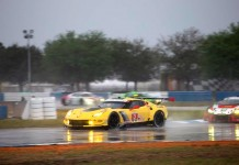 Corvette Racing at Sebring: Red Flag Halts Race Near Three-Hour Mark