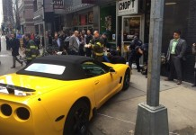 [ACCIDENT] Driverless Corvette Runs Over a Woman on a Busy New York City Sidewalk