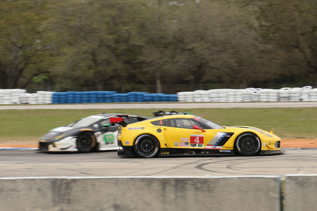 Five Crazy Moments for Corvette Racing at the Twelve Hours of Sebring
