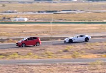 [VIDEO] Average Joe vs Pro Driver: Can a Ford Fiesta Outrun a Corvette Stingray?