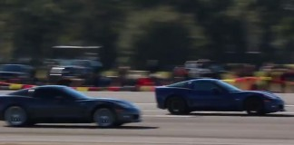 [VIDEO] Corvette vs Corvette Run the Half Mile at Ocala's WannaGoFast