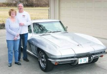 Kansas City Man's 45 Year Affair with a Silver/Silver 1966 Corvette