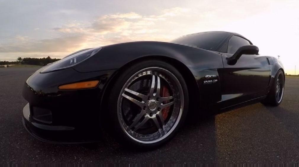 [VIDEO] Michelle Rodriguez Drives a 1,000-HP Corvette Z06