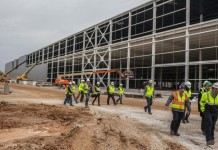 Milestone Reached in Construction of the New Corvette Assembly Plant's Paint Shop