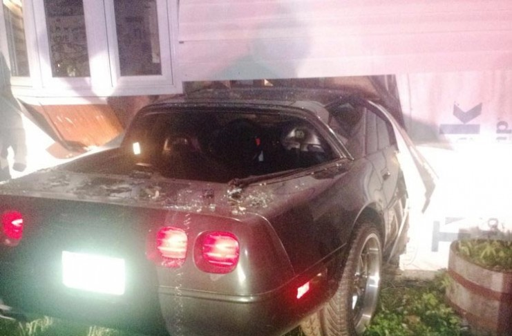 Man Gets 146 Days in Jail for Crashing Corvette into Girlfriend's Home
