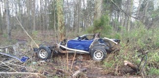 [ACCIDENT] Horrific Crash with Tree Destroys this C3 Corvette